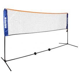 Badminton /  tenis set 3m stojany na kurt vč.  sítě