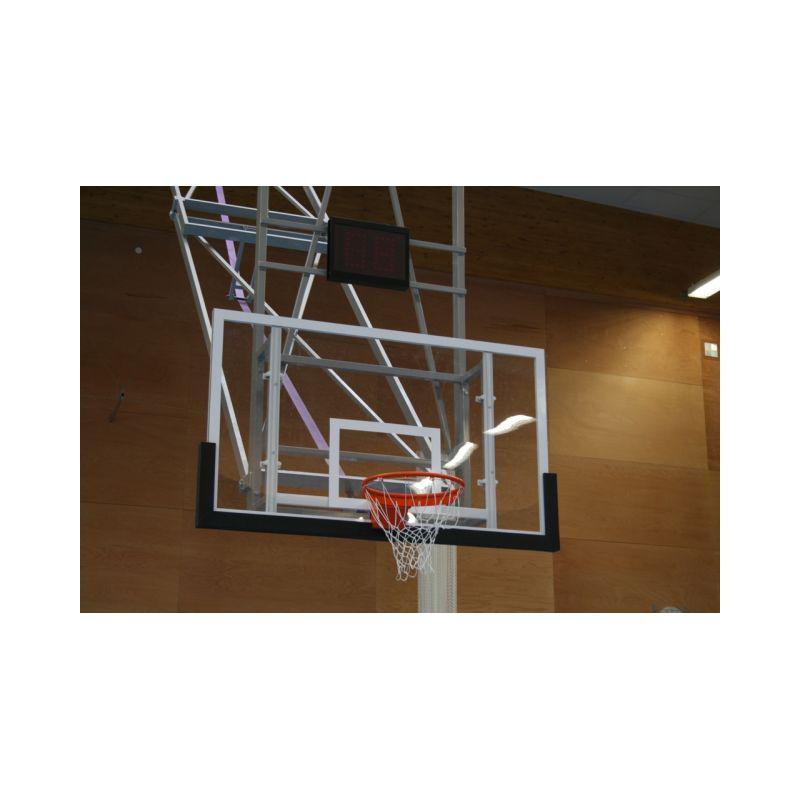 Basketbalová deska 120 x 90 cm, průhledná, POLYKARBONÁT
