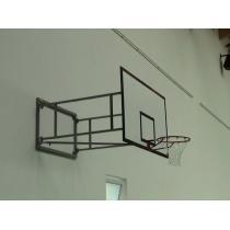 Basketbalová konstrukce otočná, interiér, vysazení do 1 m