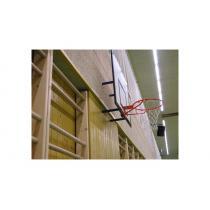 Basketbalová konstrukce pevná, interiér, cvičná, vysazení 300 mm