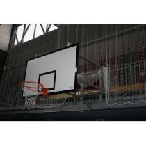 Basketbalová konstrukce pevná, interiér, vysazení do 1,8 m