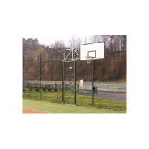 Basketbalová konstrukce příhradová, otočná, vysazení do 2,5m ( KOMAXIT )