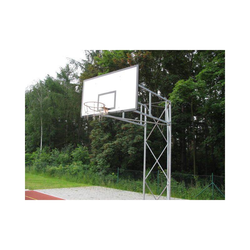 Basketbalová konstrukce příhradová, otočná, vysazení do 2,5m (ZN)