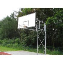 Basketbalová konstrukce příhradová, pevná, vysazení do 2,5m (ZN)