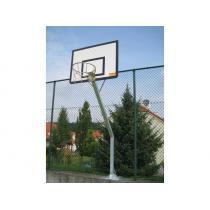 Basketbalová konstrukce streetball - exteriér (ZN), vysazení 1,2 m CERTIFIKÁT