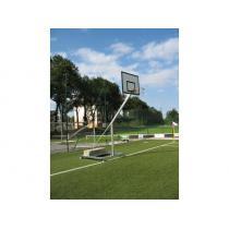 Basketbalová konstrukce streetball pojízdná - mobilní se závažím - exteriér (ZN), vysazení 1,20 m