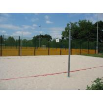 Beach volejbalové sloupky  do pouzder prům.102mm (ZN)