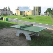 Betonový stůl na stolní tenis, betonové nohy, bez síťky