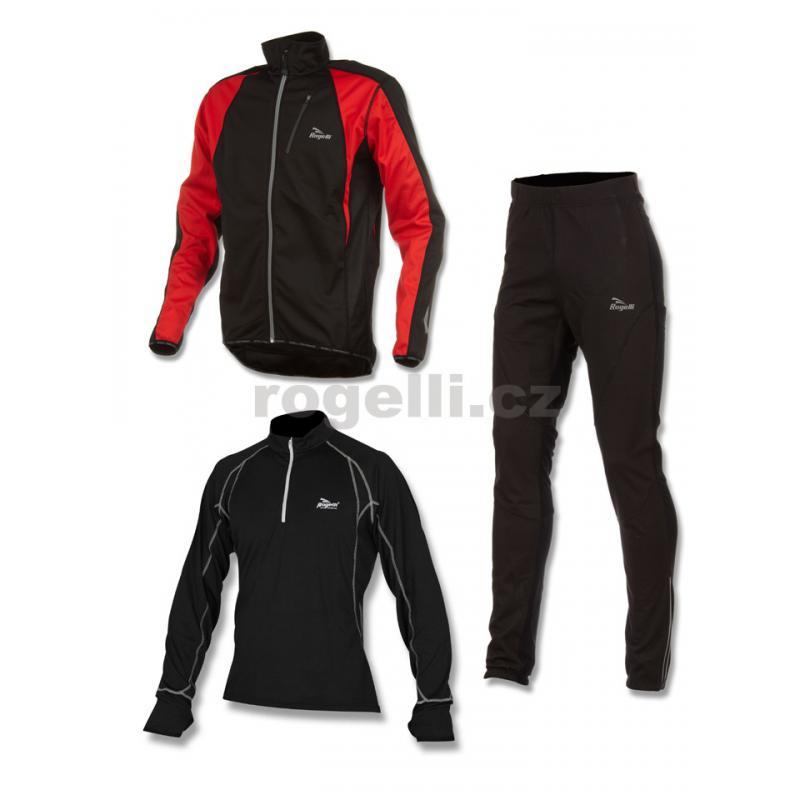 Běžecké oblečení Rogelli RICADI, červené