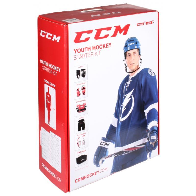 CCM Entry Kit dětský hokejový set