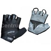 Cyklistické rukavice Rogelli PHOENIX, černé