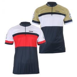 Cyklistický dres Merco CS-03 zlatý, 100% PES