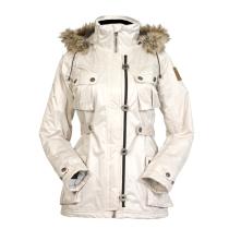 Dámská bunda Claudia s odepínací kapucí černá