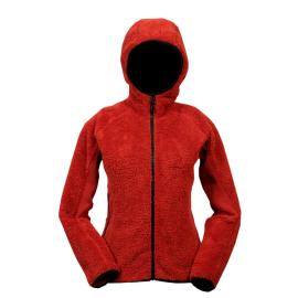02ff274e1a2 Dámská mikina Olivia fleece červená