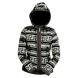 Dámská plstěná bunda AGATA s kapucí