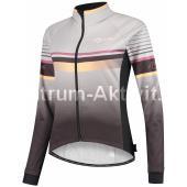 Dámská softshellová bunda Rogelli BARA, černo-reflexní růžová