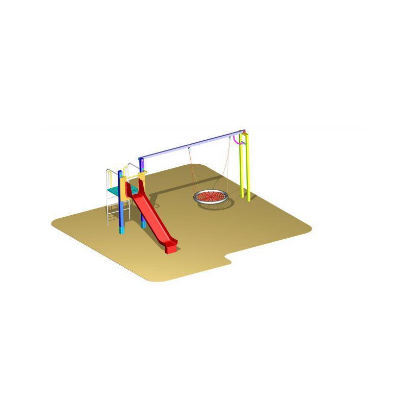 DHL 4 - LUMPÁRNA 4 - hnízdo průměr 1200 mm