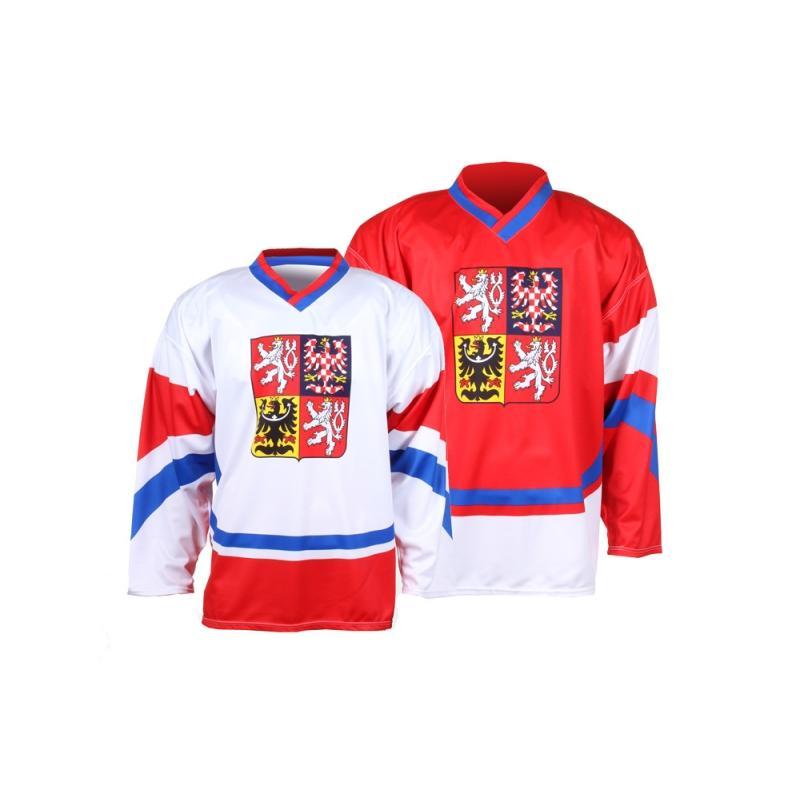 Hokejový dres Replika ČR new, červený