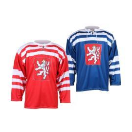 Hokejový dres Replika ČSR 1947, modrý