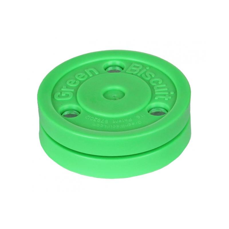 Hokejový puk tréninkový Green Biscuit