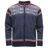 ICEwear ADAM pánský svetr modrý, norský vzor