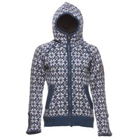 ICEwear HELGA s kapucí dámský - modrý, červený, černý