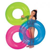 Intex kruh plavecký barevný  59260