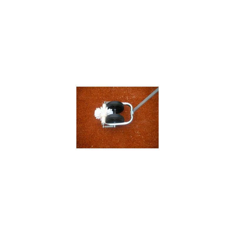 Kartáč na čištění umělých lajn - rotační