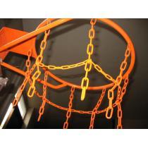 Koš na basketbal s pevně přivařenou síťkou (KOMAXIT)