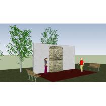 Lezecká stěna - wall 1a