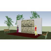 Lezeckíá stěna - wall 2a