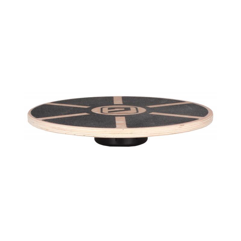 LiveUp balanční deska LS3150 dřevěná