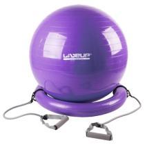 LiveUp gymball Master s expandery a podstavou