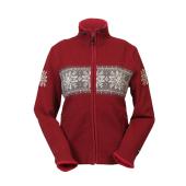Norský dámský svetr Hardanger červený