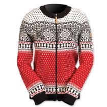 Norský dámský svetr Martha červený