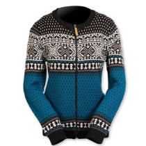 Norský dámský svetr Martha modrý