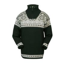 Norský pánský svetr Bergen černý