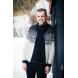 Norský pánský svetr Magnus bílý
