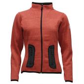NORwear LEAH fleece mikina dámská, červená