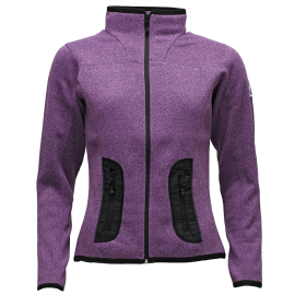 NORwear LEAH fleece mikina dámská, fialová