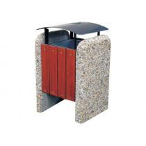 Odpadkový koš - betonový