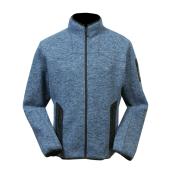Pánská mikina NORwear LUCAS fleece modrá