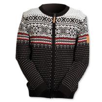Pánský svetr NORwear MAGNUS tmavý, norský vzor