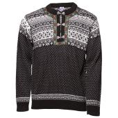 Pánský svetr NORwear TRONDHEIM černý, norský vzor