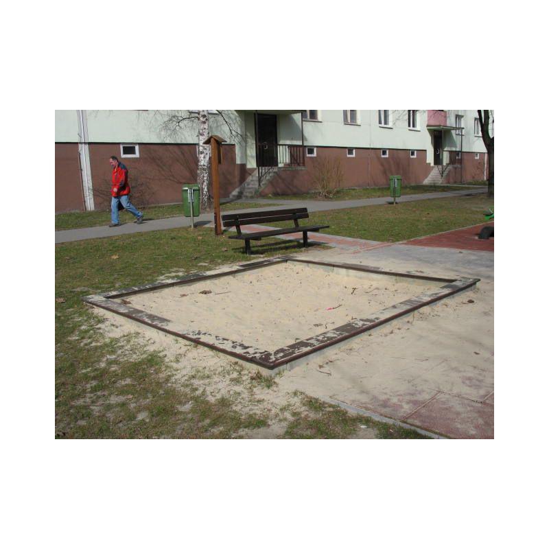 Pískoviště betonové 2x2 m bez zakrytí (DH 8a)