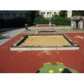 Pískoviště betonové 3x3 m bez zakrytí (DH 8b)