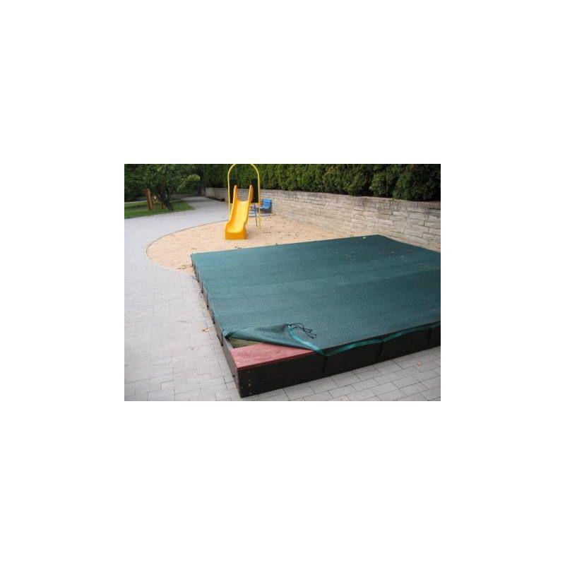Plachta na zakrytí pískoviště+pružné lano (DH 7Z)