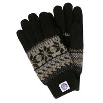 Pletené prstové rukavice Thinsulate - černé