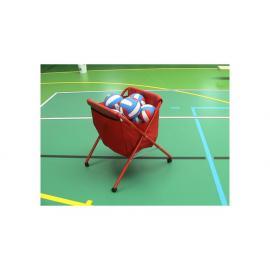 Pojízdný vozík na míče - sklopný