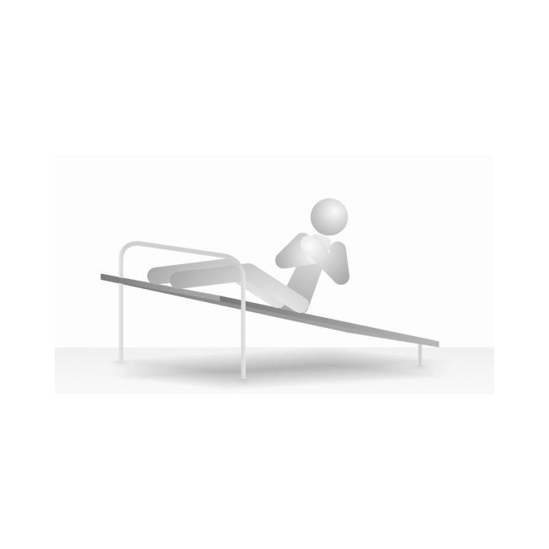 Posilovací lavice - šikmá - břicho